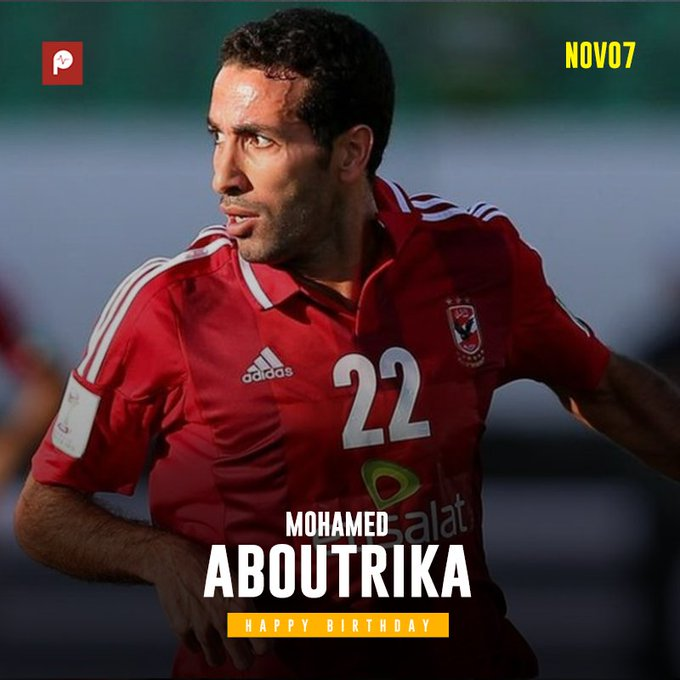 Happy Birthday to African football fan favourite and Egyptian legend Mohamed Aboutrika!