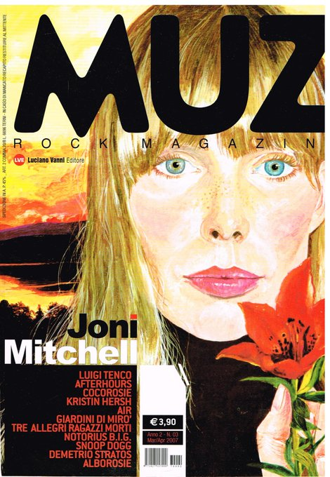 Happy 74th birthday to Joni Mitchell. What a talent!