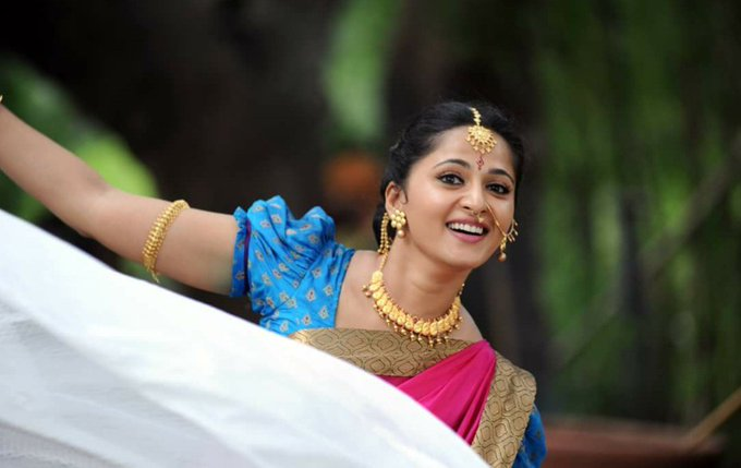 Happy birthday sweety Anushka Shetty....