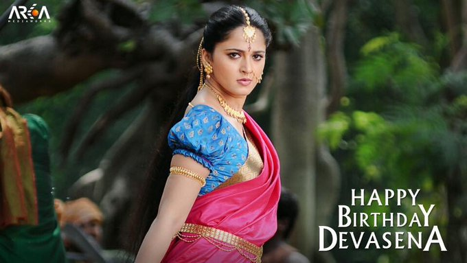 Wishing our Devasena, Anushka Shetty, a Happy Birthday!