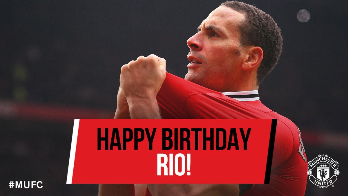We just say make we wish Rio Ferdinand Happy Birthday. E don turn 39 years old. Legend!