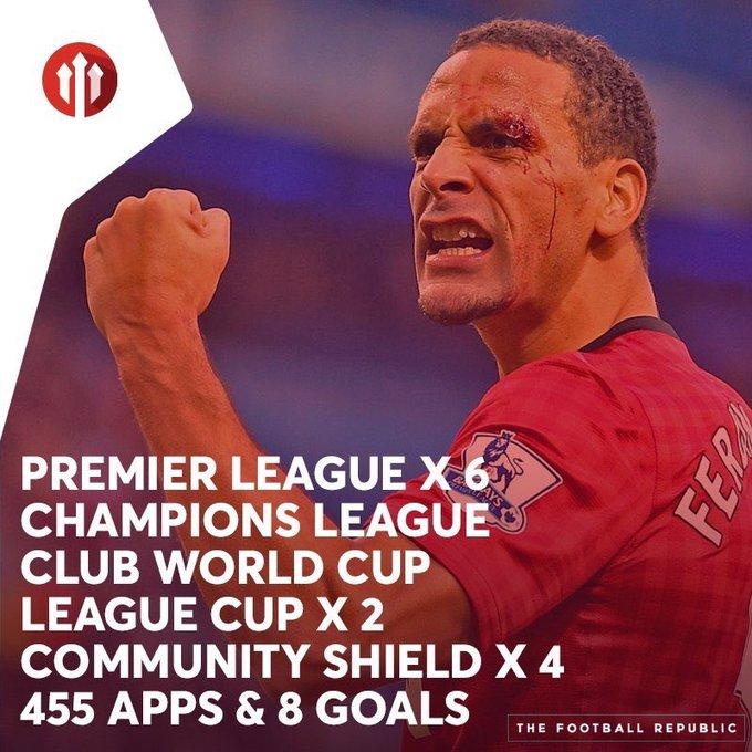 Happy birthday Rio Ferdinand.