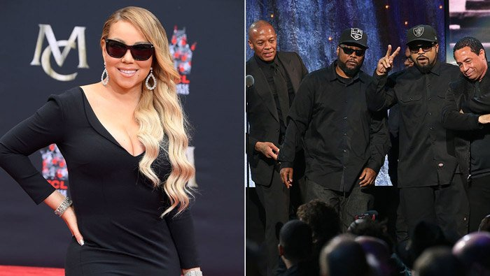 RT @RapUp: Mariah Carey and N.W.A have been nominated for the 2018 Songwriters Hall of Fame https://t.co/ICGN2PLX5y https://t.co/ZZHWUOmLSY