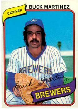 Happy birthday to Buck Martinez, turning 69 today! Played w/Milw 1978-80