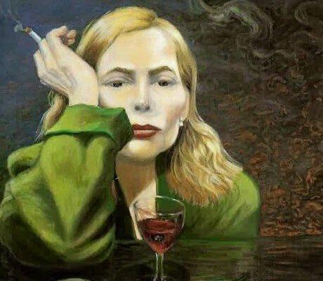 Talk about a true artist, Happy Birthday to Joni Mitchell