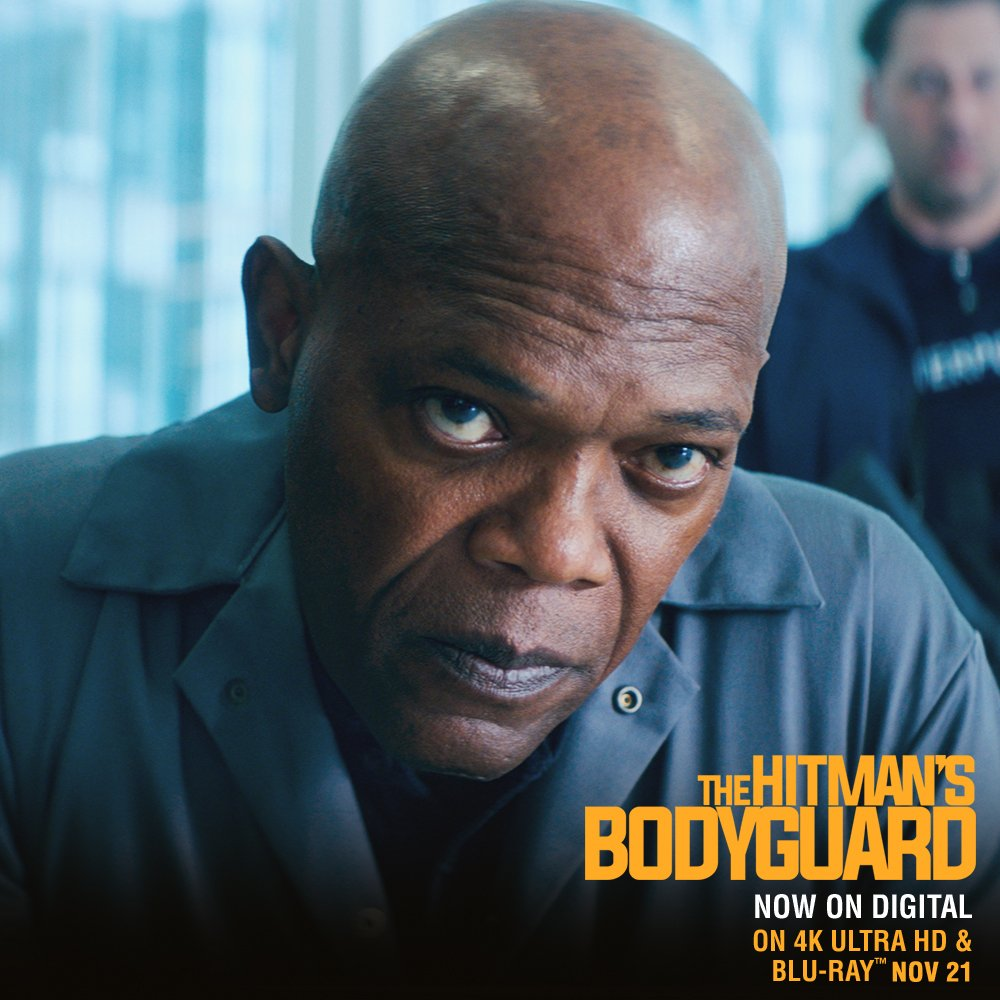 Get ready for a good time! #HitmansBodyguard is out on Digital now! On 4K, Blu-ray and DVD Nov. 21 https://t.co/6Zfc3ZwLBM