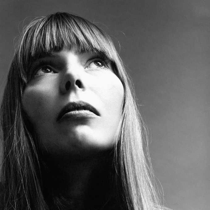 Happy Birthday to Joni Mitchell, born this day in 1943!
