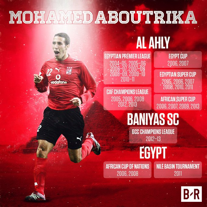 Happy Birthday to Egyptian legend Mohamed Aboutrika!