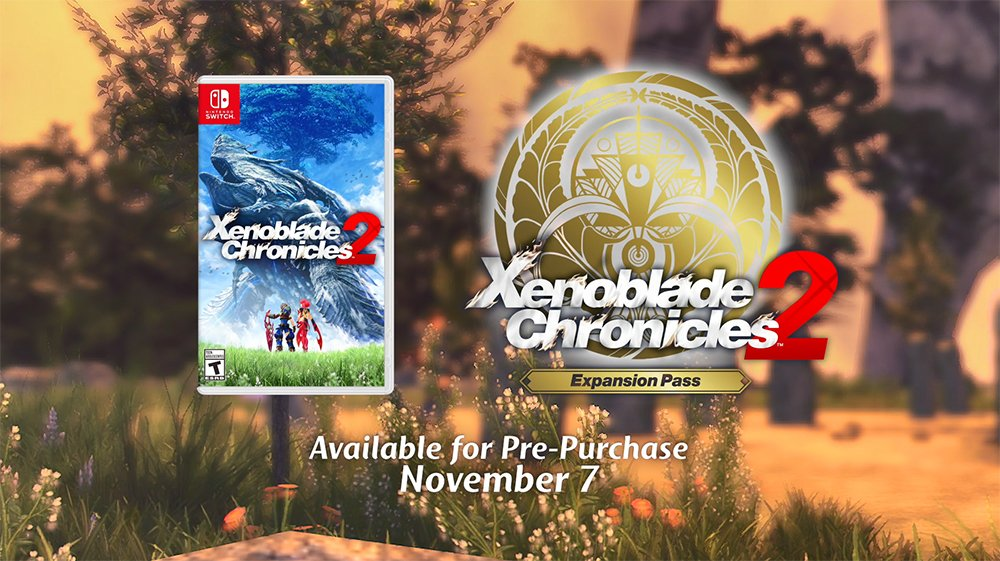 Alrest awaits, adventurers! #XenobladeChronicles2 launches 12/1 for #NintendoSwitch. https://t.co/sIhmeJdxfL