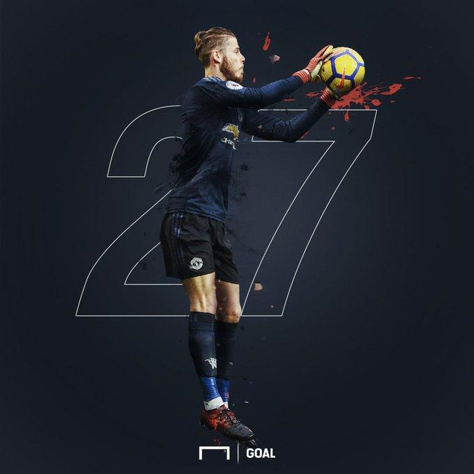 Happy birthday to goalkeeper David De Gea