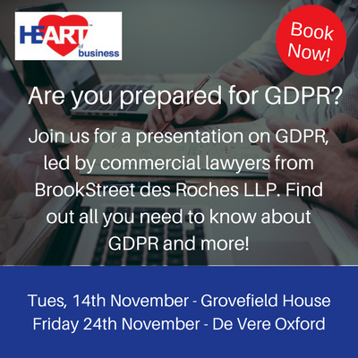 test Twitter Media - Learn all about #GDPR at our November meetings - with presentations from @bsdrlegal. Find out more here - https://t.co/ylKazfiwIu https://t.co/rqt559rBZp
