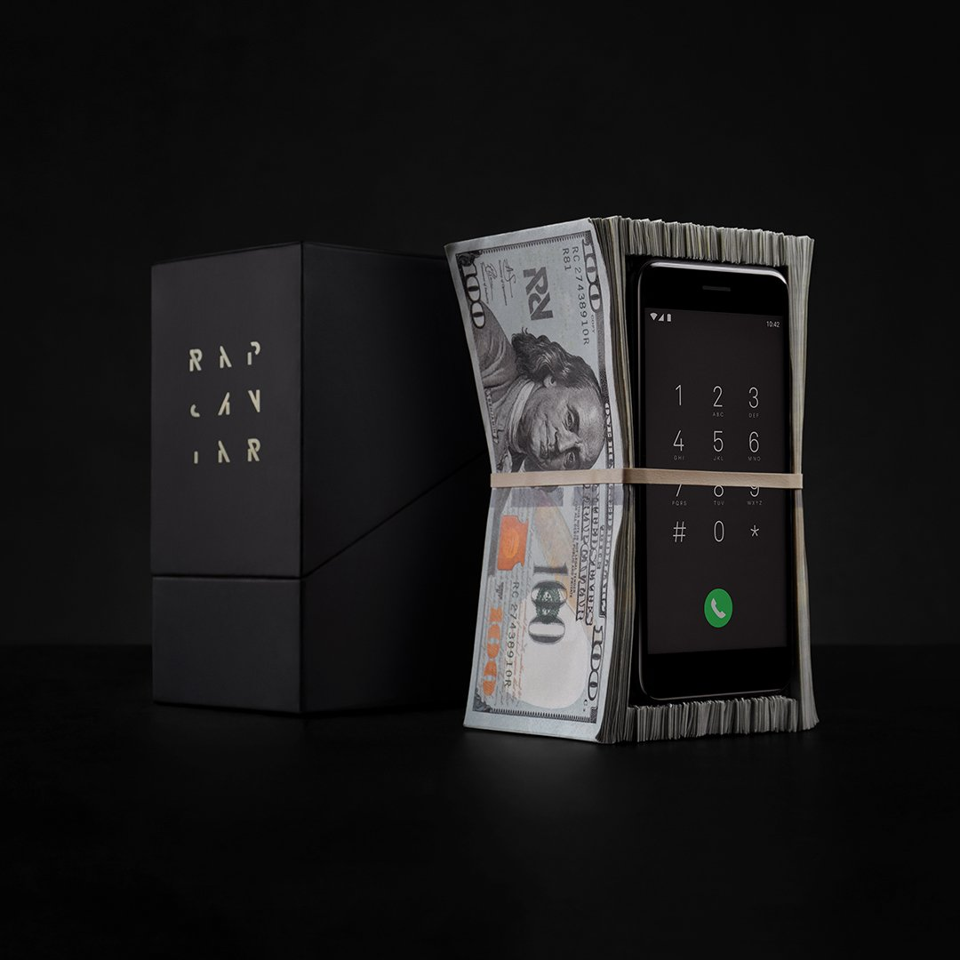 The super limited edition #RapCaviar MoneyPhone case. Coming soon to the top listeners of RapCaviar. https://t.co/uI1kFX7YLo