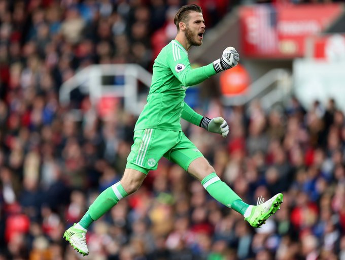 Wish Manchester United No1 David de Gea a happy birthday!   Your No1 in the