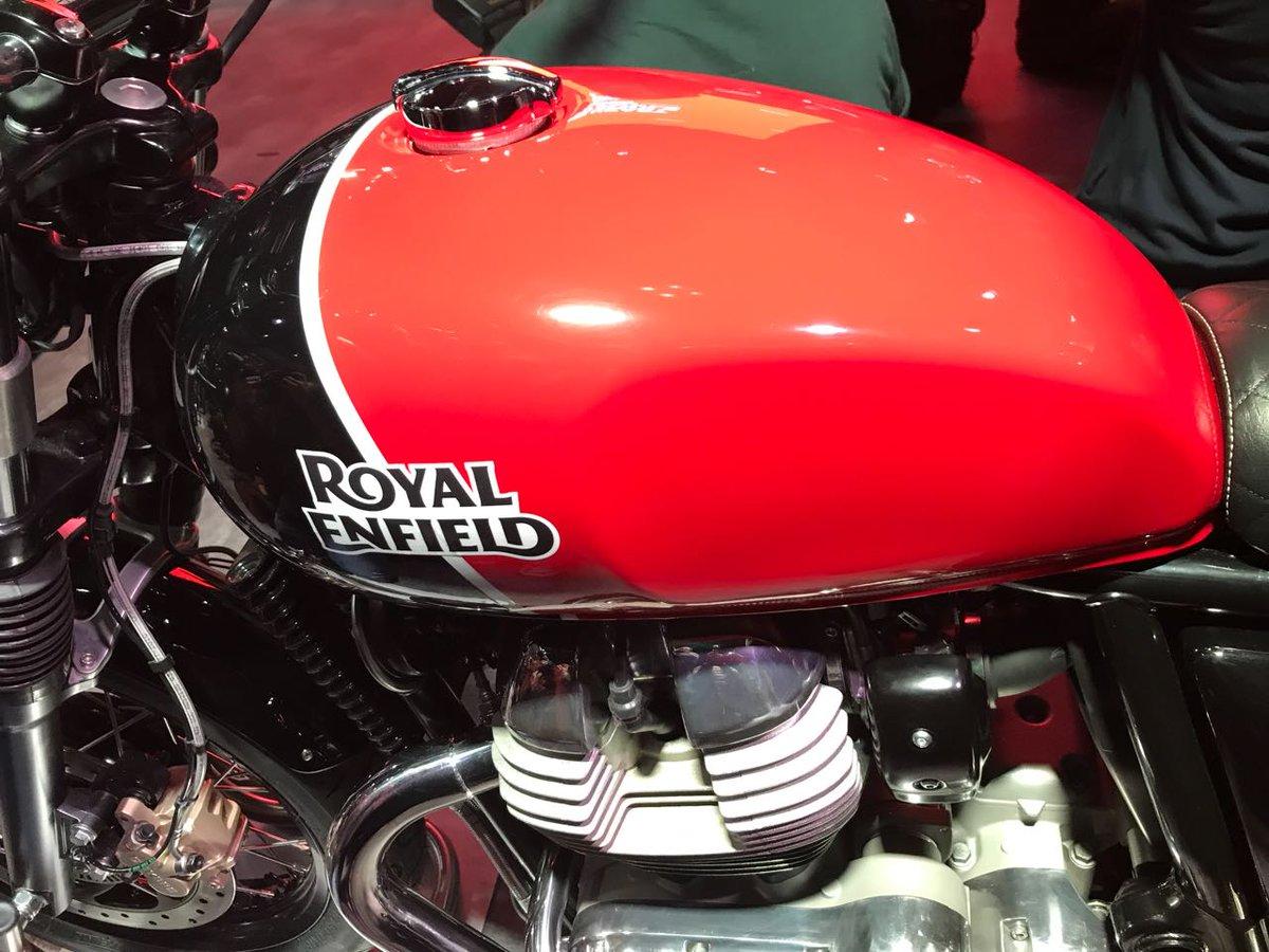 neue royal enfield zweizylinder