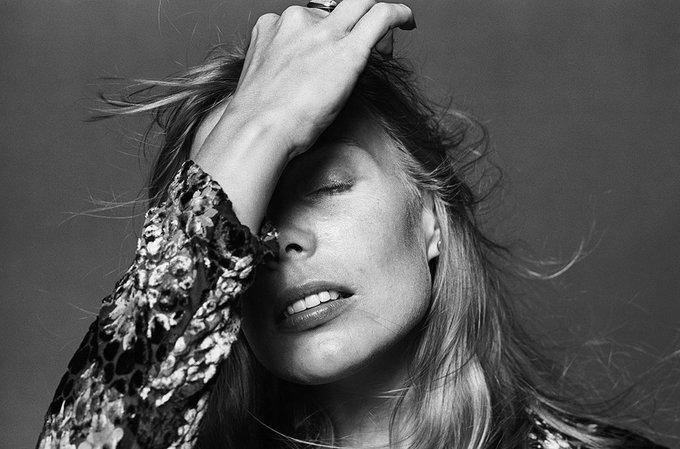 Happy birthday to the amazing Joni Mitchell Norman Seeff, 1976