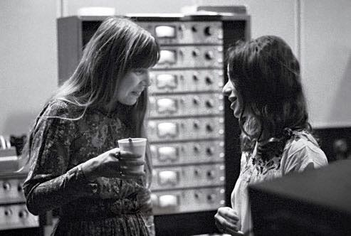 Happy Birthday, Joni Mitchell! Tapestry session  A & M Records, 1971 Photo: Jim McCrary