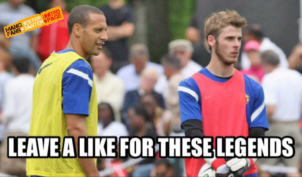 Happy Birthday De Gea & Rio Ferdinand
