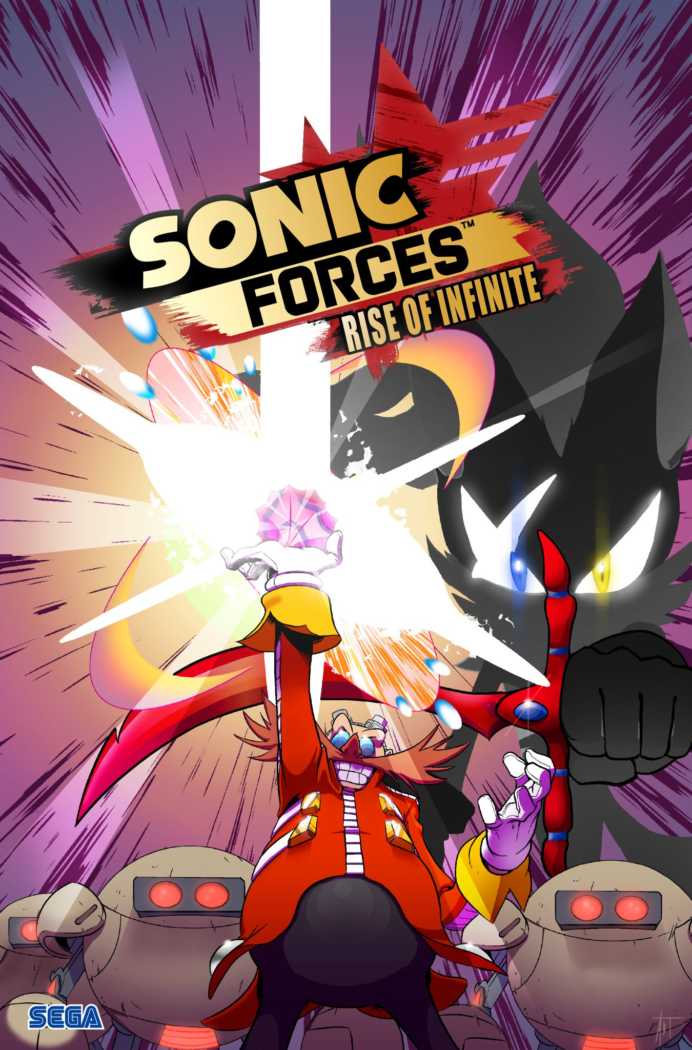 Sonic Forces is out now! Enjoy with a comic about how Eggman met a certain new villain. (1/2) https://t.co/MNHbqQIsnT