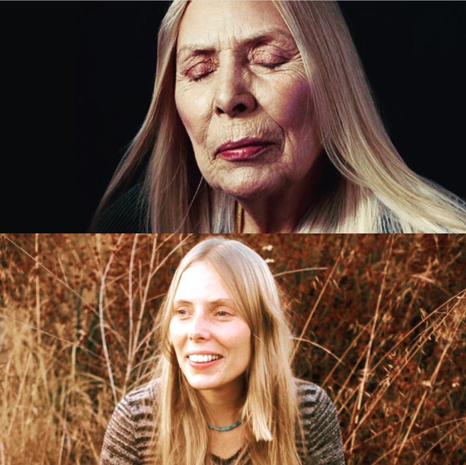 I learned a woman is never an old woman. -Joni Mitchell Happy Birthday Goddess