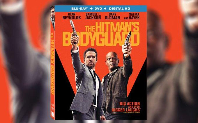 The Hitman's Bodyguard Contest: Win a DVD/Bluray!