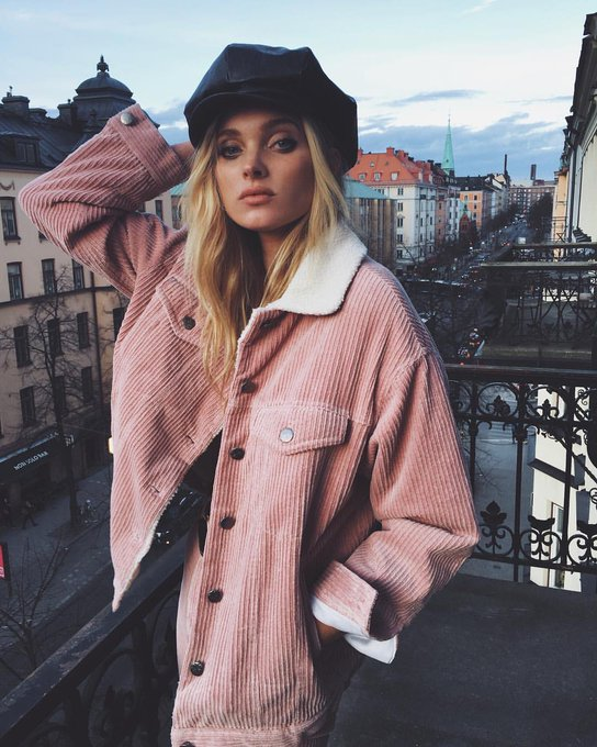 Happy birthday to the nordic queen elsa hosk, i admire her as a model and her style is amazing