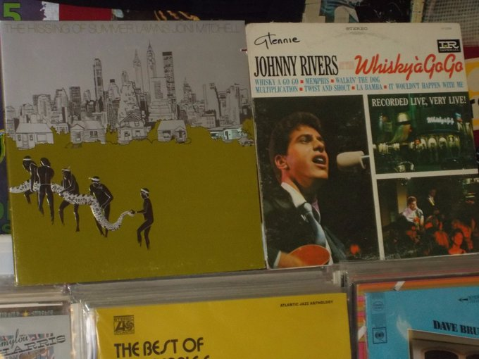 Happy Birthday to Joni Mitchell & Johnny Rivers