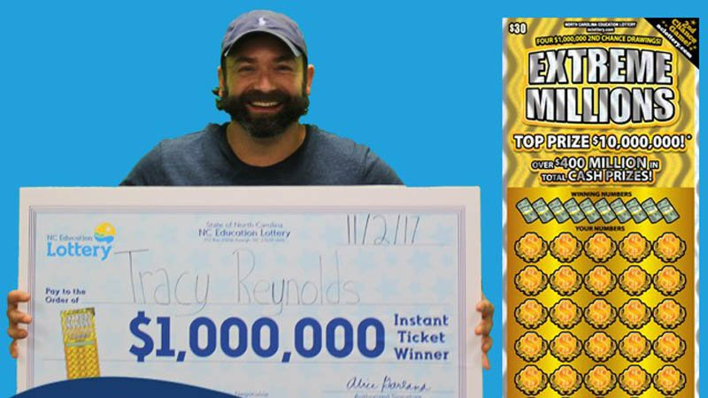North Carolina man wins $60 on scratch-off ticket, then buys another worth $1 million