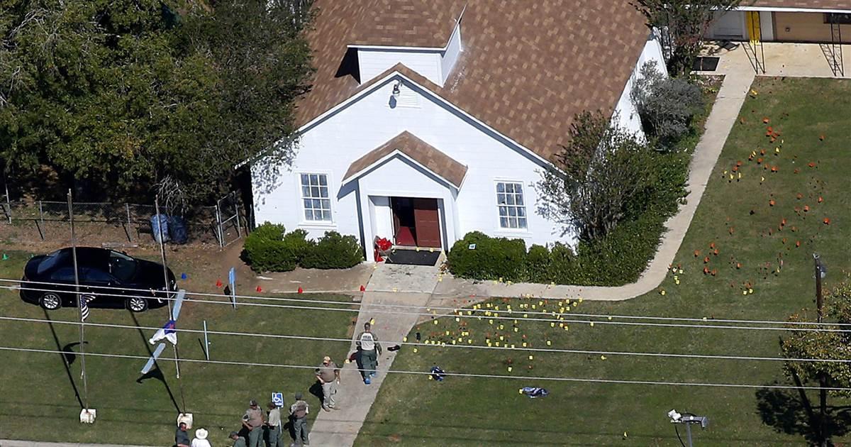 Texas church shooting survivors recall hiding under pew as gunman fired