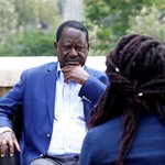 Kenya's Odinga says constitutional review, talks will pave way out of crisis