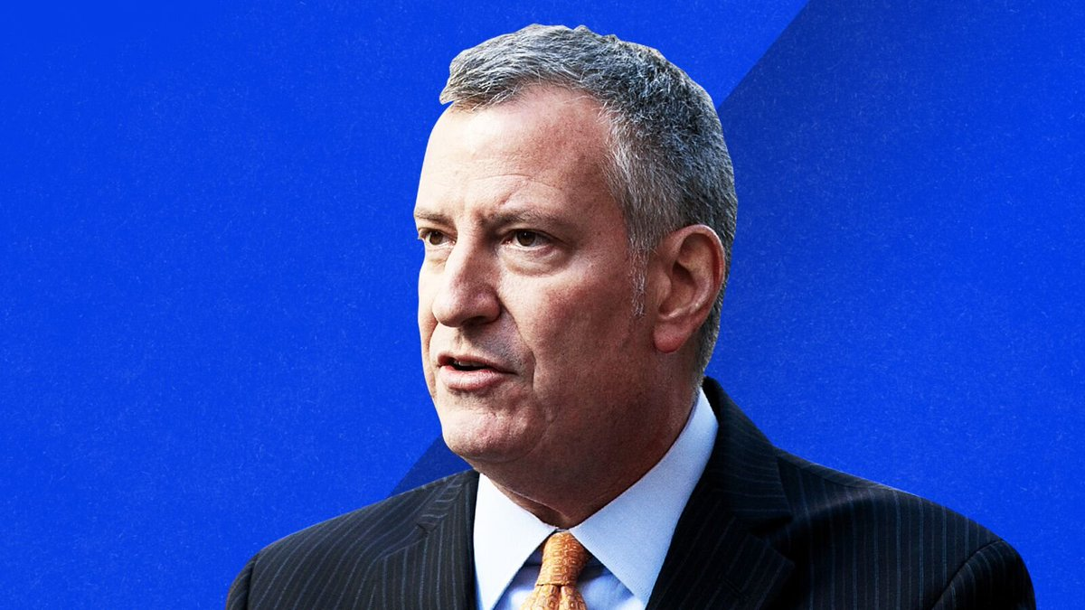 Mayor Bill de Blasio is re-elected in a victory for New York City progressives