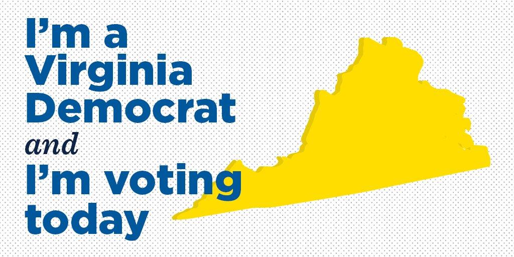 Hey Virginia: RT if you're voting for @RalphNortham, @fairfaxjustin, and @MarkHerringVA today ✔️ #GameOnVA https://t.co/bXWOpJ97yf