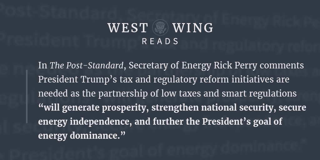 Here is what the West Wing staff is reading today: https://t.co/fMVi5yDBuc https://t.co/WI8BWXCS9Z