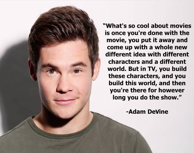 Are you a TV geek or Film buff? Happy Birthday Adam DeVine from Cast It Talent!