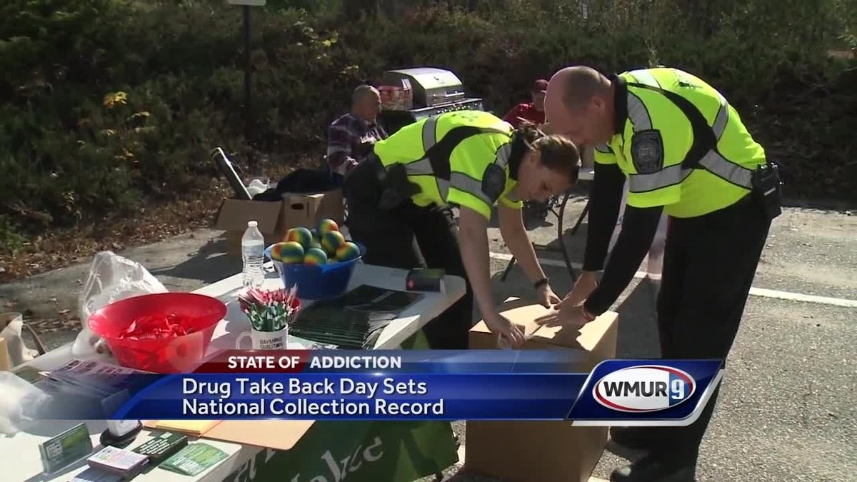 Record amount of drugs collected on Take Back Day