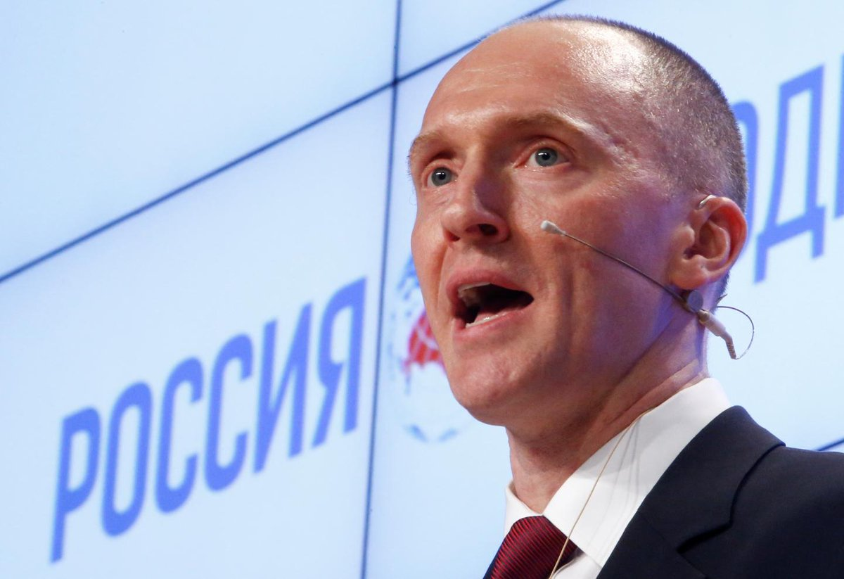 Carter Page wanted Trump to give a landmark speech in Russia as a presidential candidate
