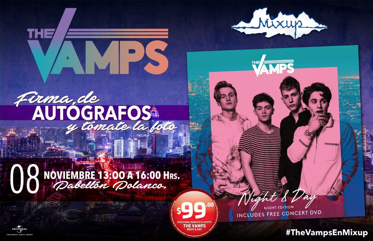 TheVampsband mexico