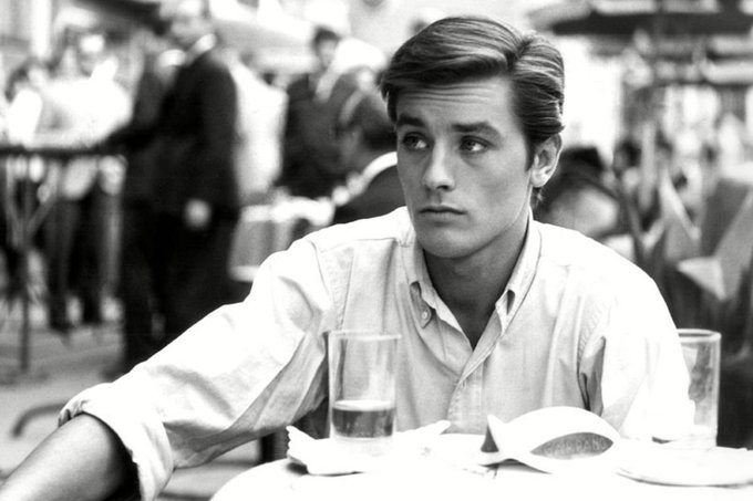 """I knew everything and received everything. But real happiness, is giving.\"" Happy Birthday Alain Delon"