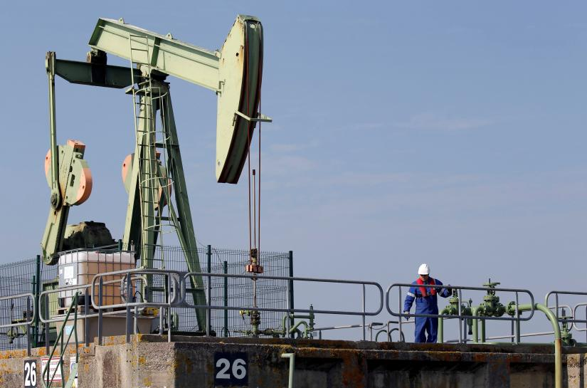 Oil dips on profit taking but remains near two-year highs