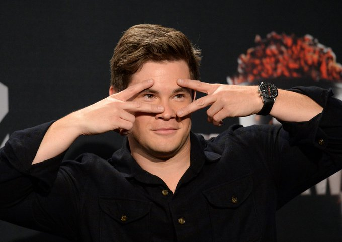 Oh by the way, happy birthday Adam Devine! (As if we\d forget about you, boo)