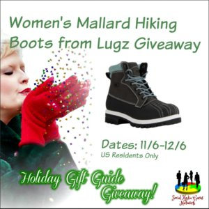 Women's Lugz Mallard Boots Giveaway (12/6 US)