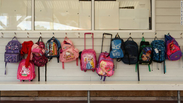 This Florida school is selling bulletproof panels for students' backpacks