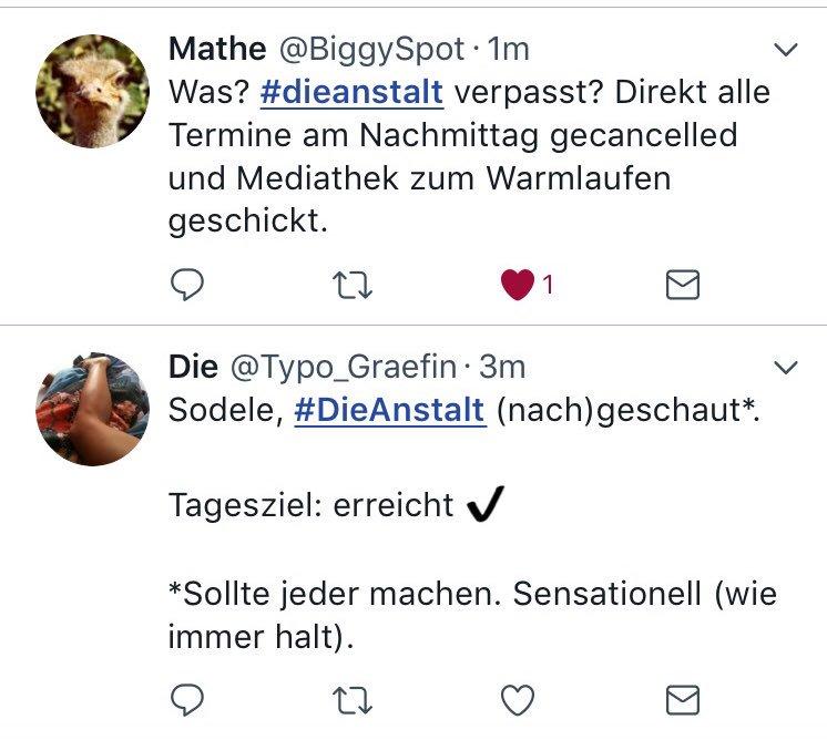 #DieAnstalt