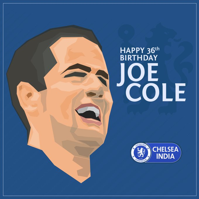 Chelsea India wishes a very Happy Birthday to the man who has won everything in England, Joe Cole!