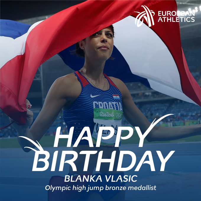 Happy birthday to Olympic high jump bronze medallist and 2007 and 2009 world champion Blanka Vlasic!