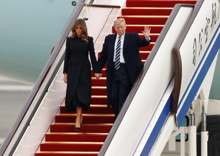 Trump warns 'rogue regime' North Korea of grave danger
