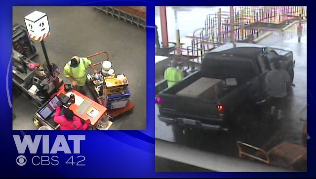 Man poses as City of Pelham worker, uses fake purchase order to buy items at Home Depot