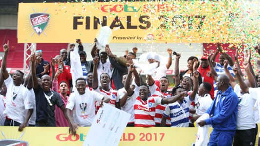 AFC Leopards players receive pay for GOtv Shield success