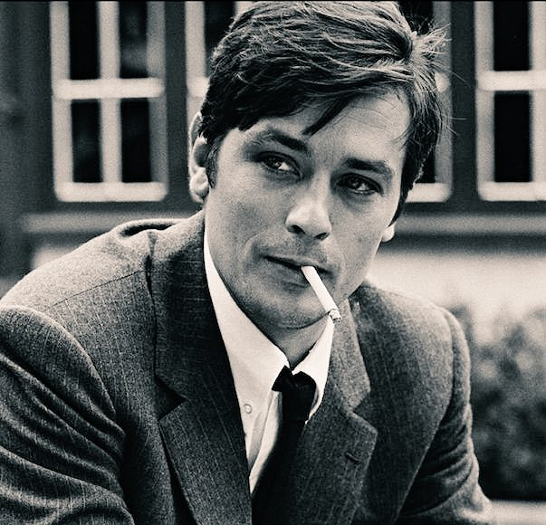 Happy birthday to living acting legend Alain Delon!