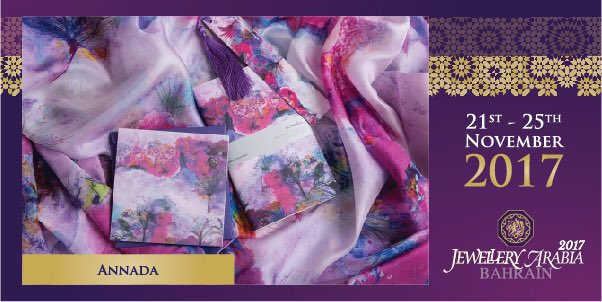 test Twitter Media - Annada infuses the world of romance, art and beauty. All provided in compact luxury lifestyle products, stunning silk scarves, wearable art apparel and paper products 💍 #annada #jewelleryarabia2017 #elegant #beautiful #classy https://t.co/oHHw3WDByp
