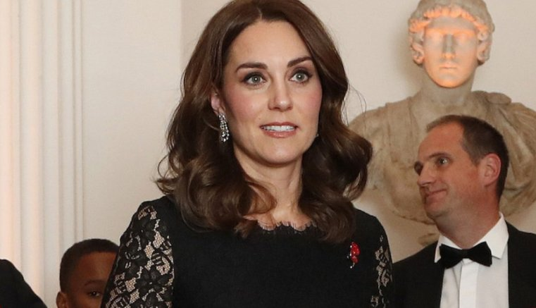 We've spotted something VERY interesting about Kate Middleton's dress at this event...